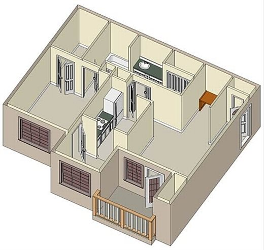 The Preserve Floor Plan 1