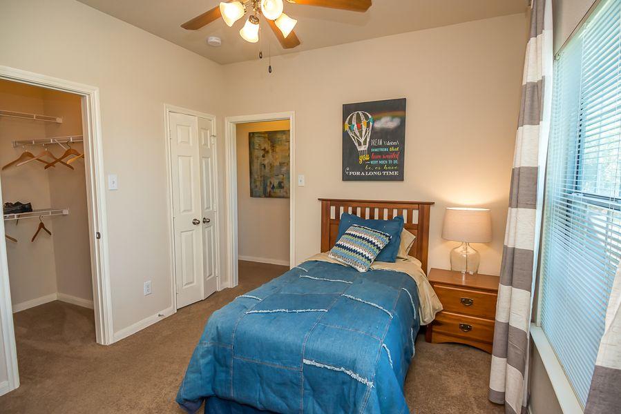 Roomy bedrooms Austin TX