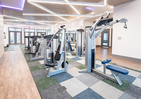 Brand New, 2-story, Tech Advanced Fitness Center with Cardio and Strength Training Equipment