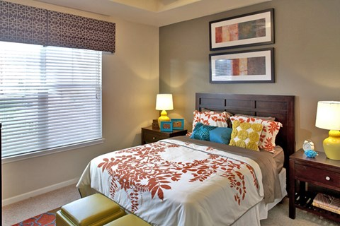 Lewisville Apartments for Rent - Hebron 121 Spacious Bedroom with Natural Lighting