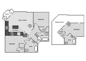Two Bedroom Loft - Phase 1