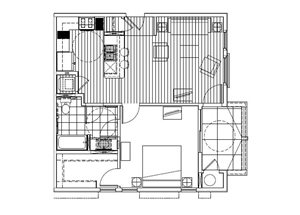 One Bedroom C - Phase 2