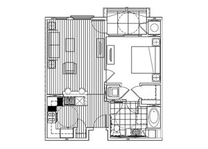 One Bedroom A -Phase 2