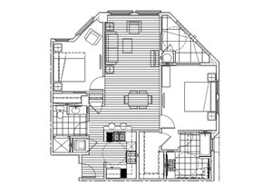 Two Bedroom Two Bath B - Phase 2