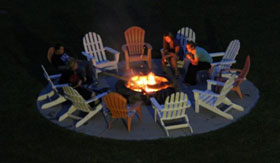 Apartments in Spring Lake with Outdoor Fire Pit