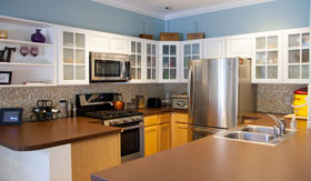 Kitchen at Apartments in Spring Lake