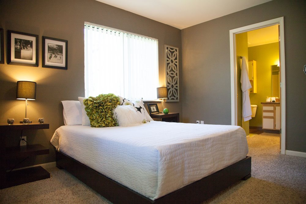 Large Bedroom at Woodland Ridge Apartments in Grand Haven, MI