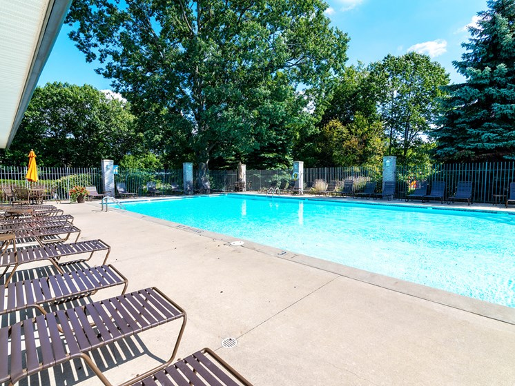 Swimming Pool at Woodland Ridge Apartments in Spring Lake MI