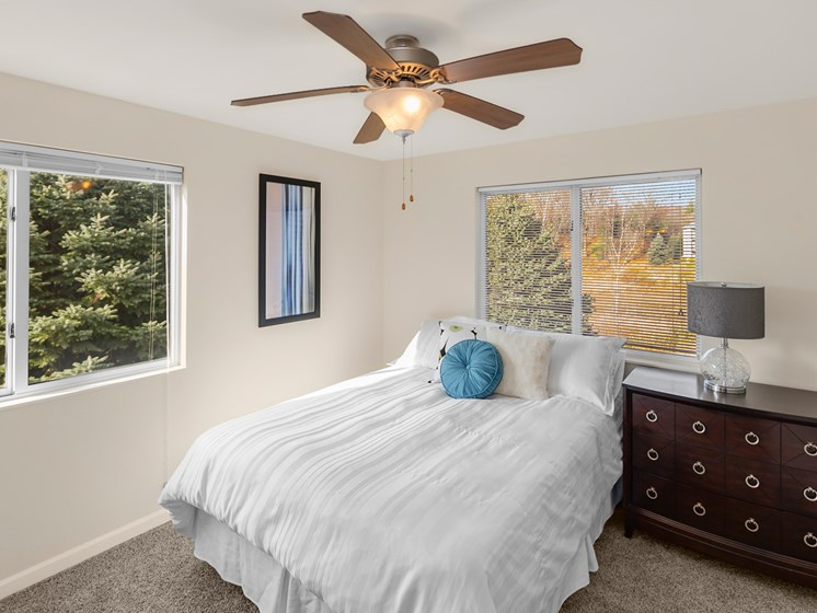 Large Bedrooms at Woodland Ridge Apartments in Spring Lake, MI
