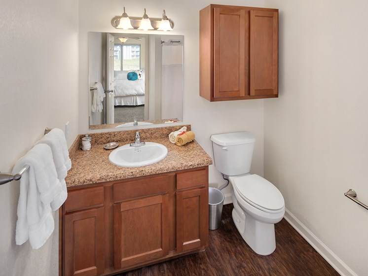 Updated Bathrooms at Woodland Ridge Apartments in Grand Haven, MI, MI