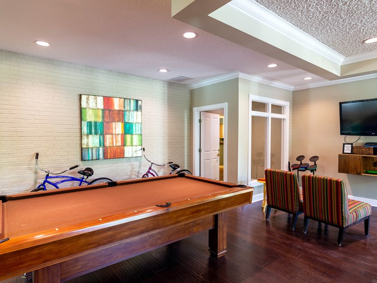 Game Room at Woodland Ridge Apartments in Grand Haven, MI