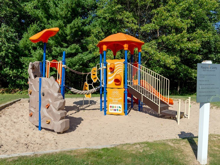 Playground at Woodland Ridge Apartments in Grand Haven, MI