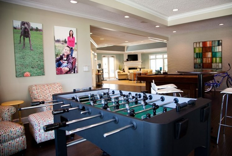 Game Room at Woodland Ridge Apartments in Spring Lake, MI