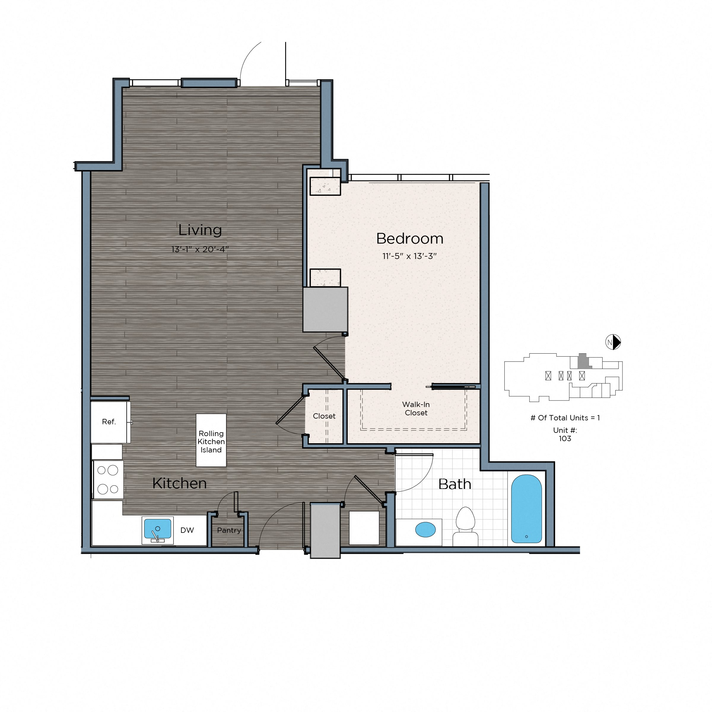 Beaufiful One Bedroom Apartments In Dc Pictures One