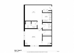 One Bedroom Lofts
