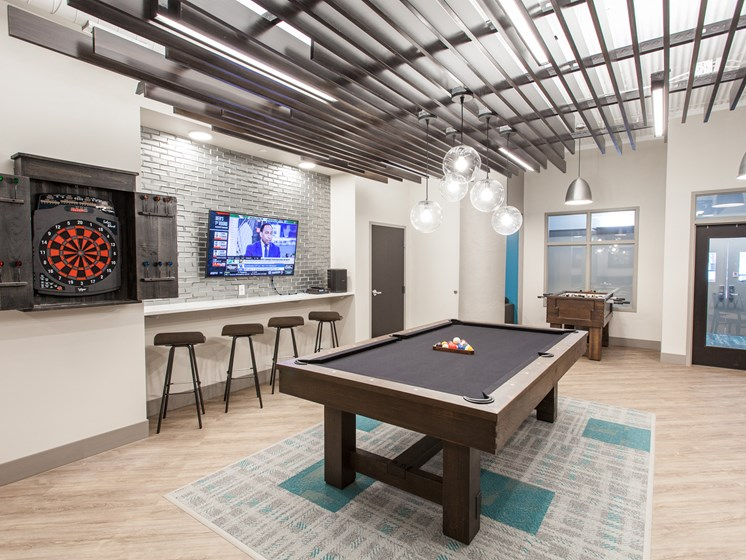 Spacious Games Room at Cosmopolitan