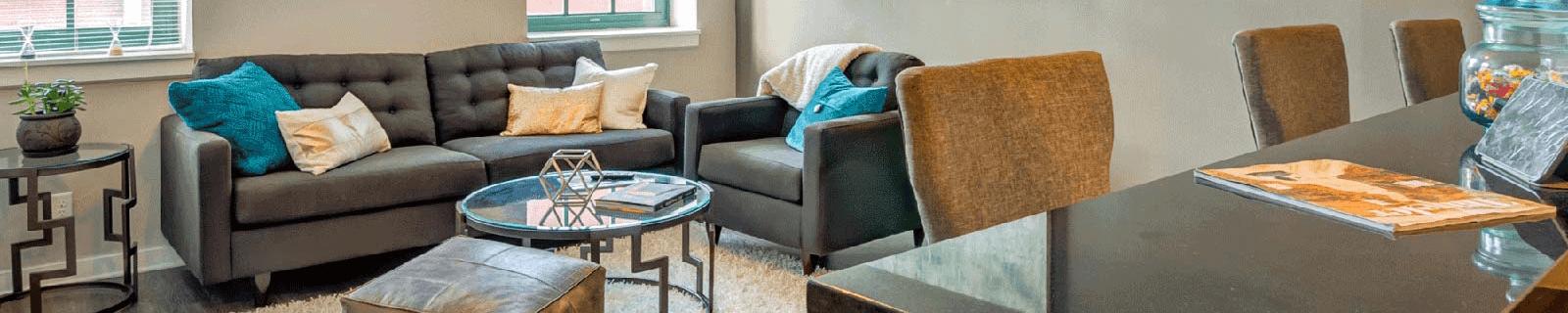 Modern Living Room at Cosmopolitan