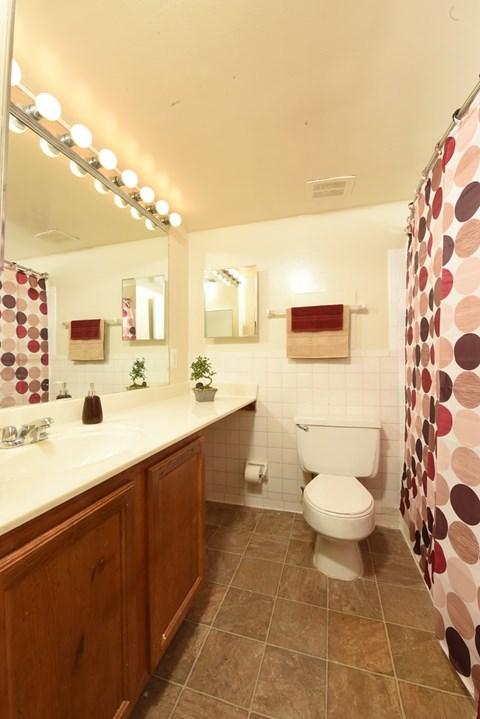 Bright Bathrooms