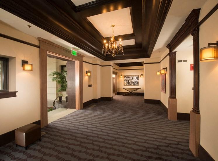 Newly Renovated Corridors