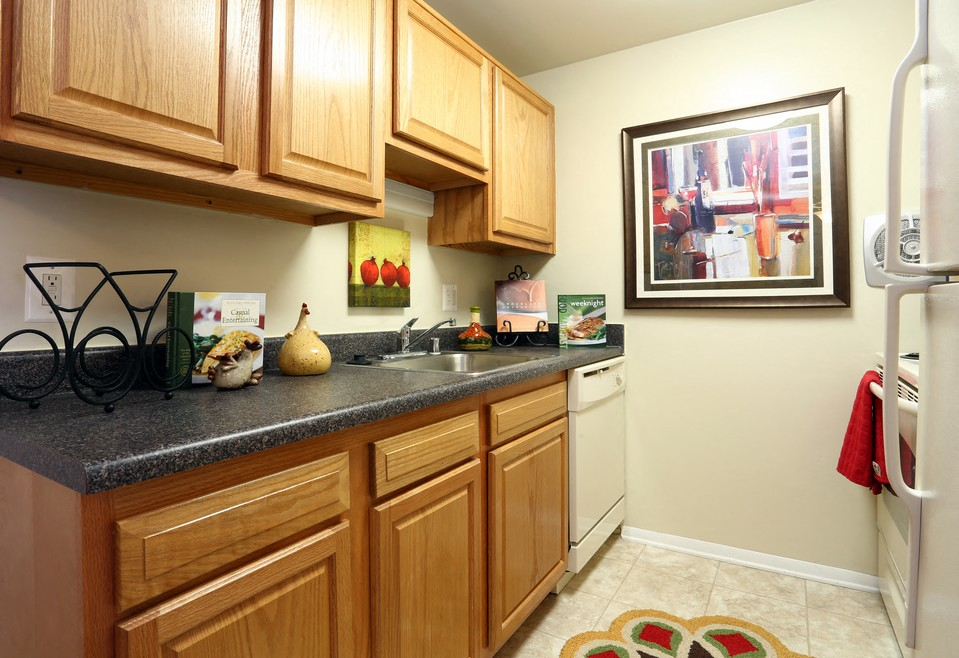 Spacious Kitchen With Pantry Cabinet At The Birches Apartments, Silver  Spring, 20904