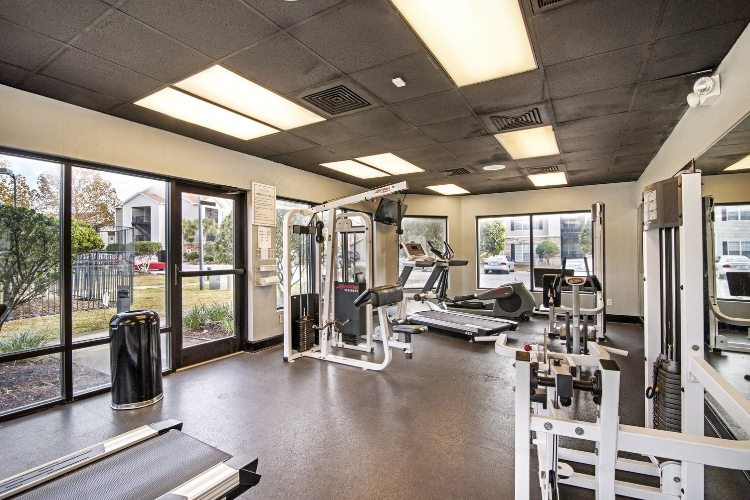Modern Fitness Center at Fairfield Lakes Apartments, FL 32506