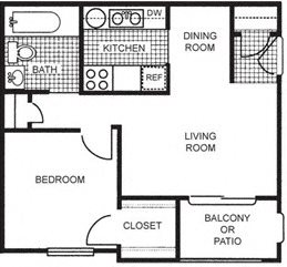 Junior One Bedroom One Bath