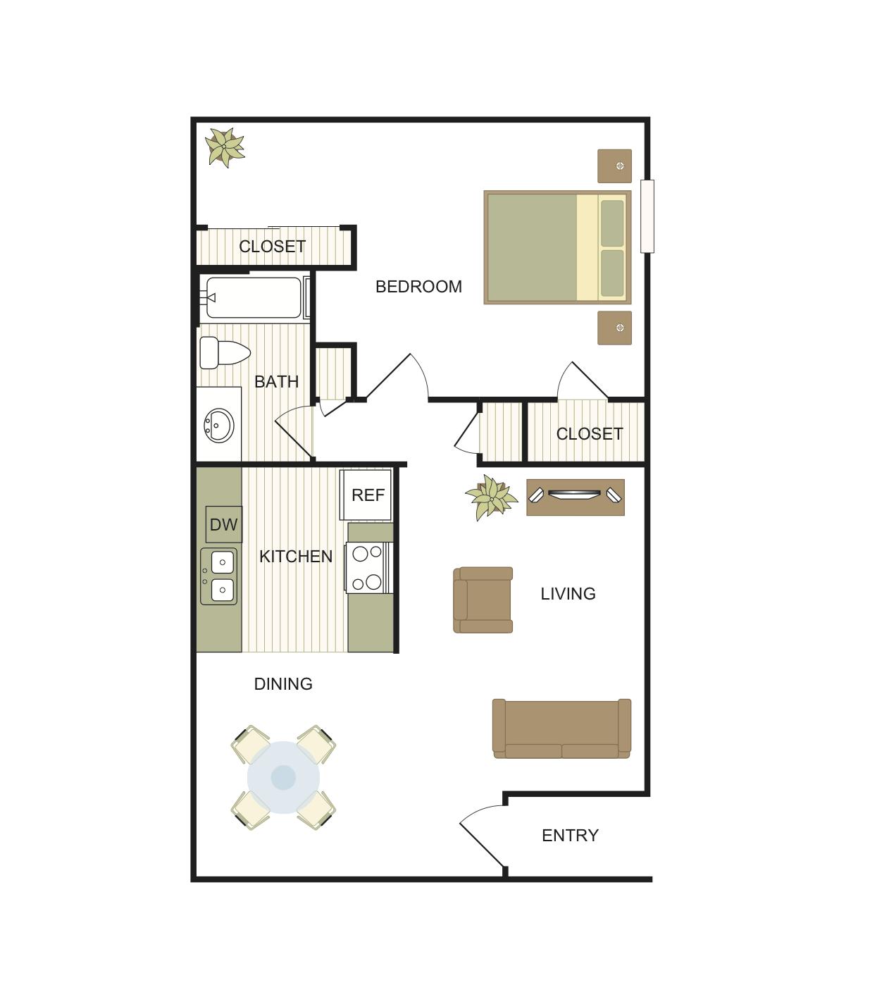 Comal Floor Plan 1