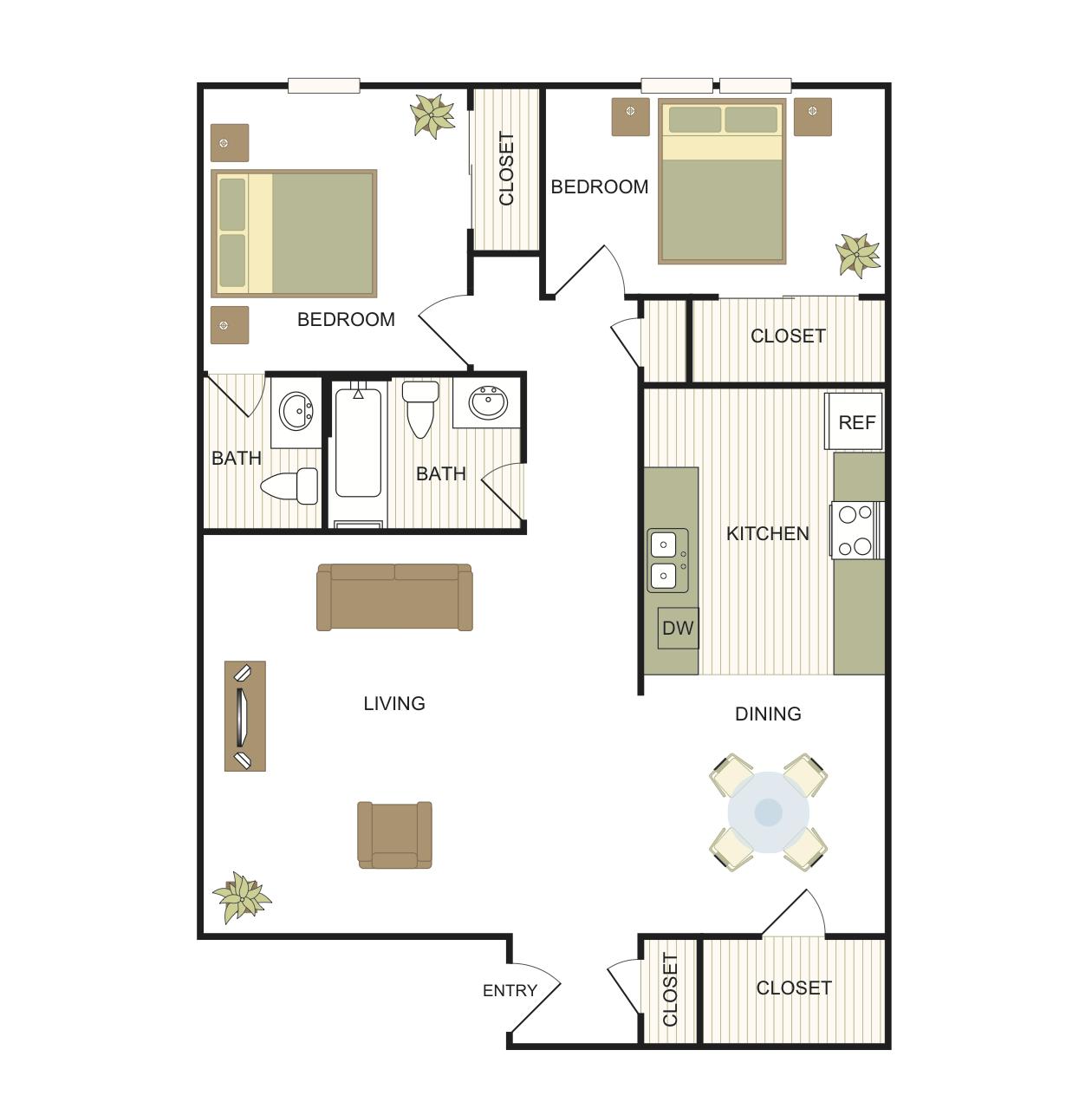 Guadalupe Floor Plan 3