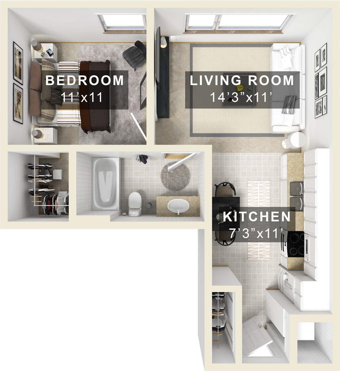 Olive Floor Plan 7