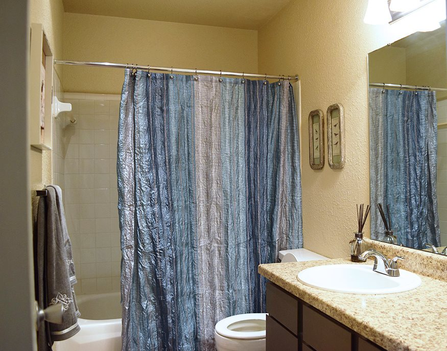 Bathroom Property Photo at Marland Place Apartments in Temple , TX  76502