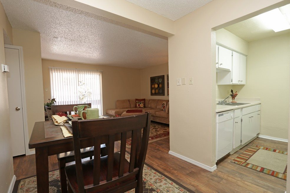 Dining Room at Mountain View at Southgate Apartments in El Paso, TX 79925