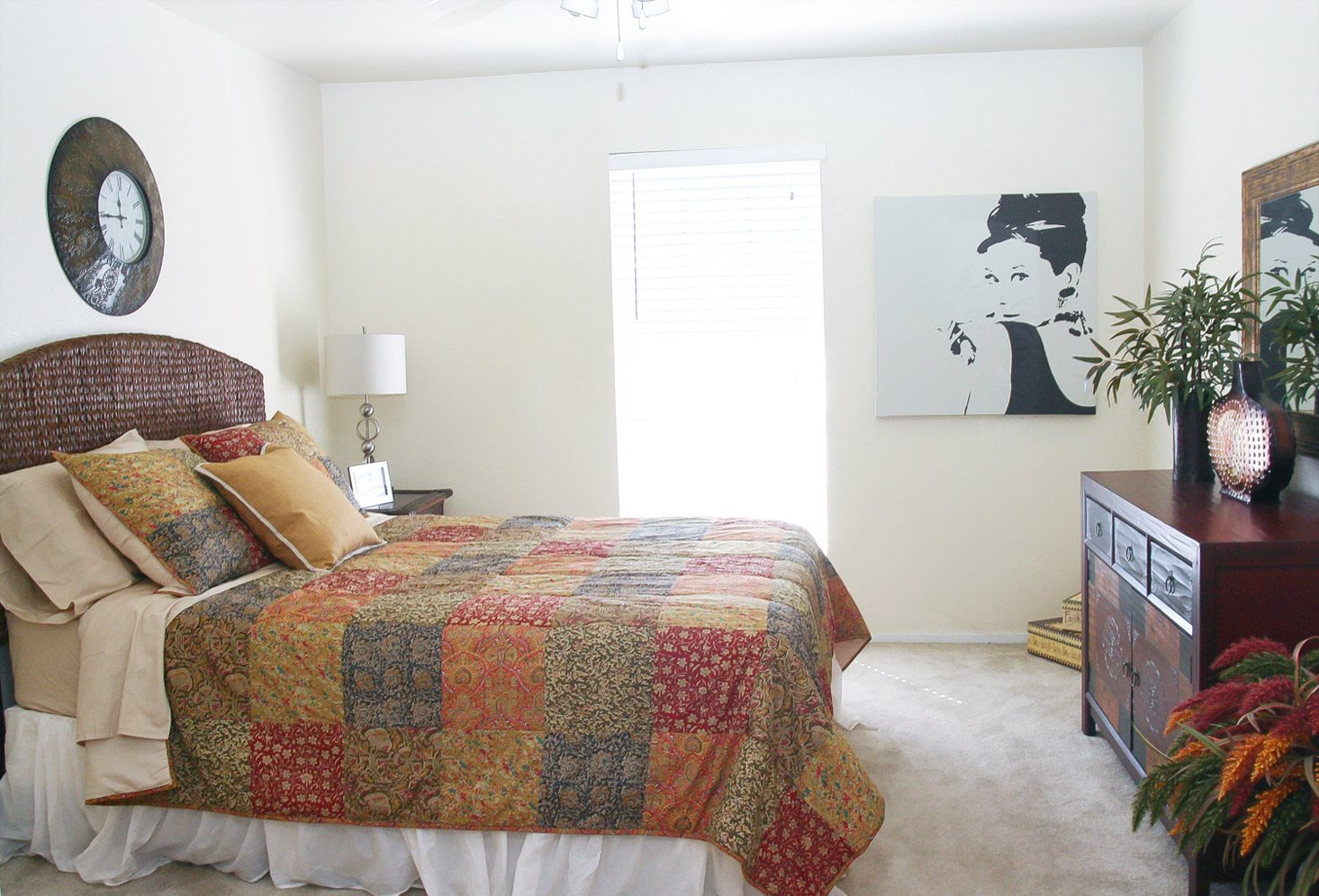 Apartment Bedroom Photo at Woodhollow Apartments in Huntsville , TX 77340