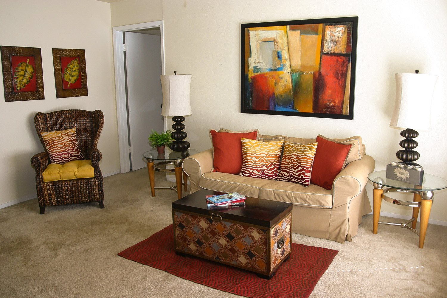 Apartment Interior Photo at Woodhollow Apartments in Huntsville , TX 77340