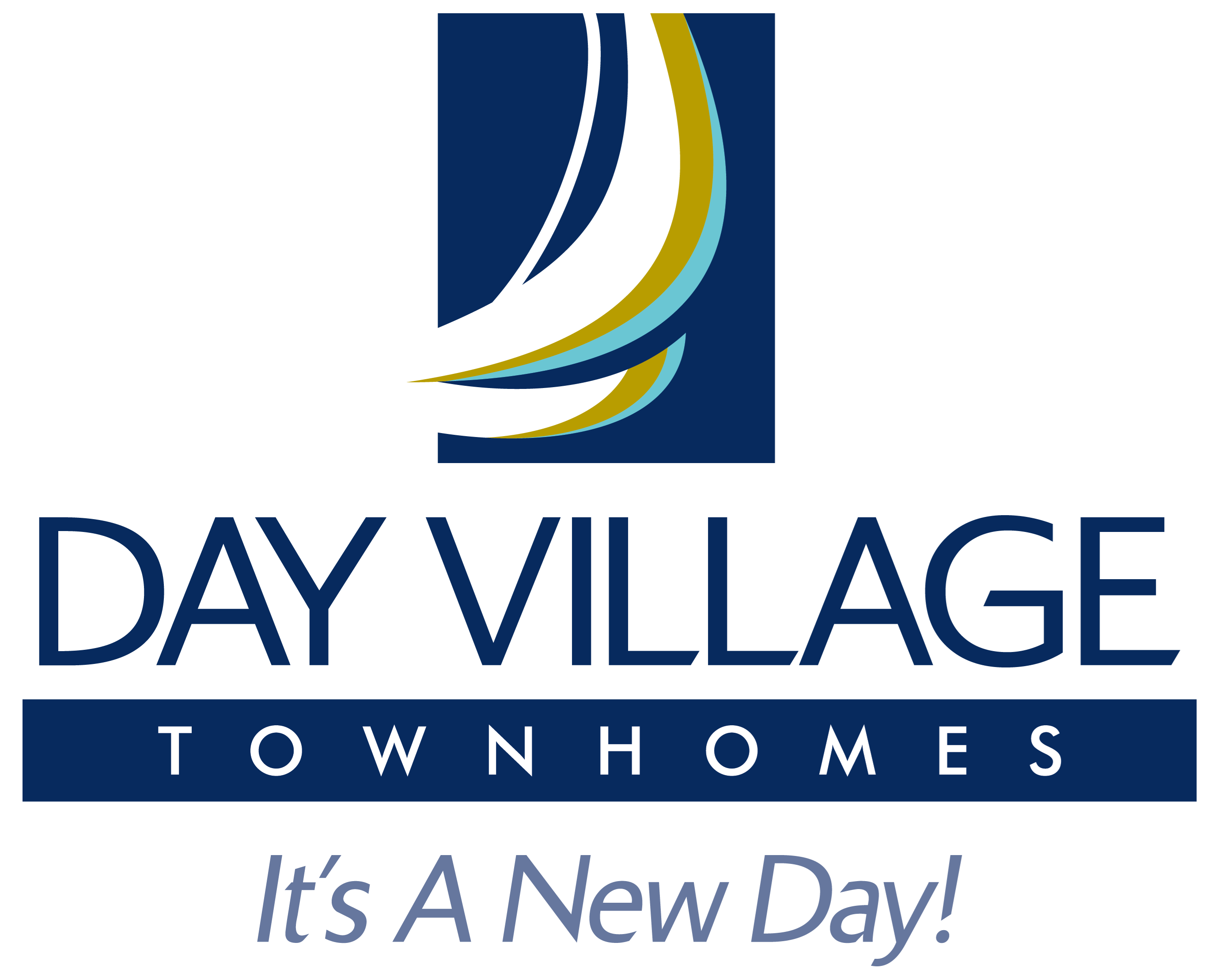 Day Village Townhomes Logo, Dundalk