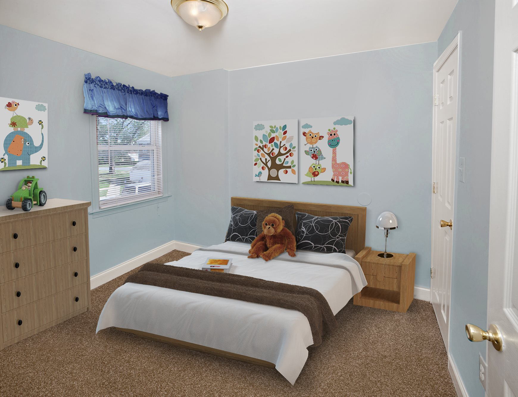 Modern Bedrooms at Day Village Townhomes, Dundalk, MD,21222