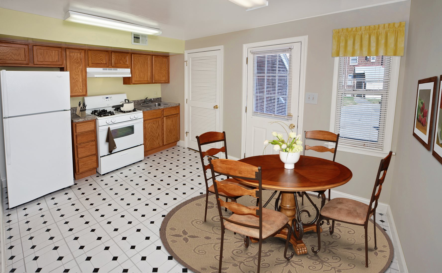 Cozy Dining Area at Day Village Townhomes, Dundalk, MD,21222