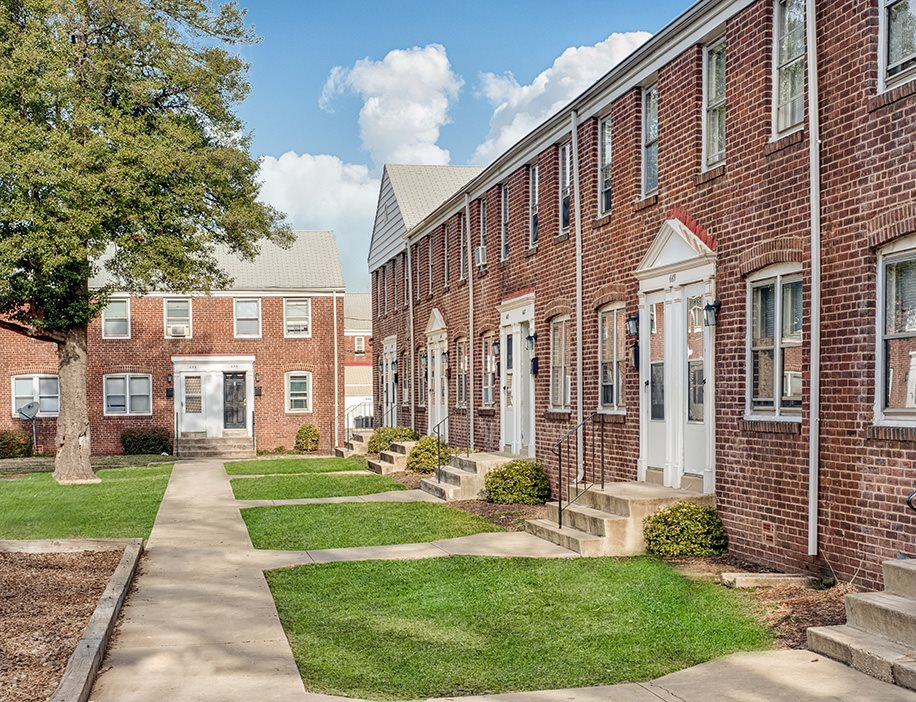 Beautiful Exposed Brick Construction at Day Village Townhomes, Dundalk, MD,21222