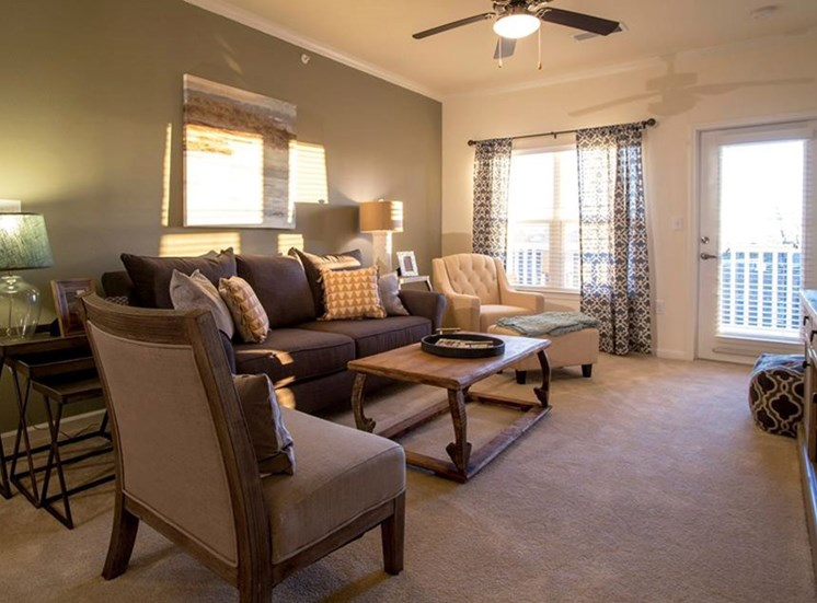 Ceiling Fans in Living Areas at Town Center at Lake Carolina Apartments, Columbia, SC 29229