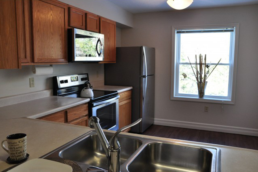 Window in the Kitchen at Stonefarm, New Hampshire, 03766