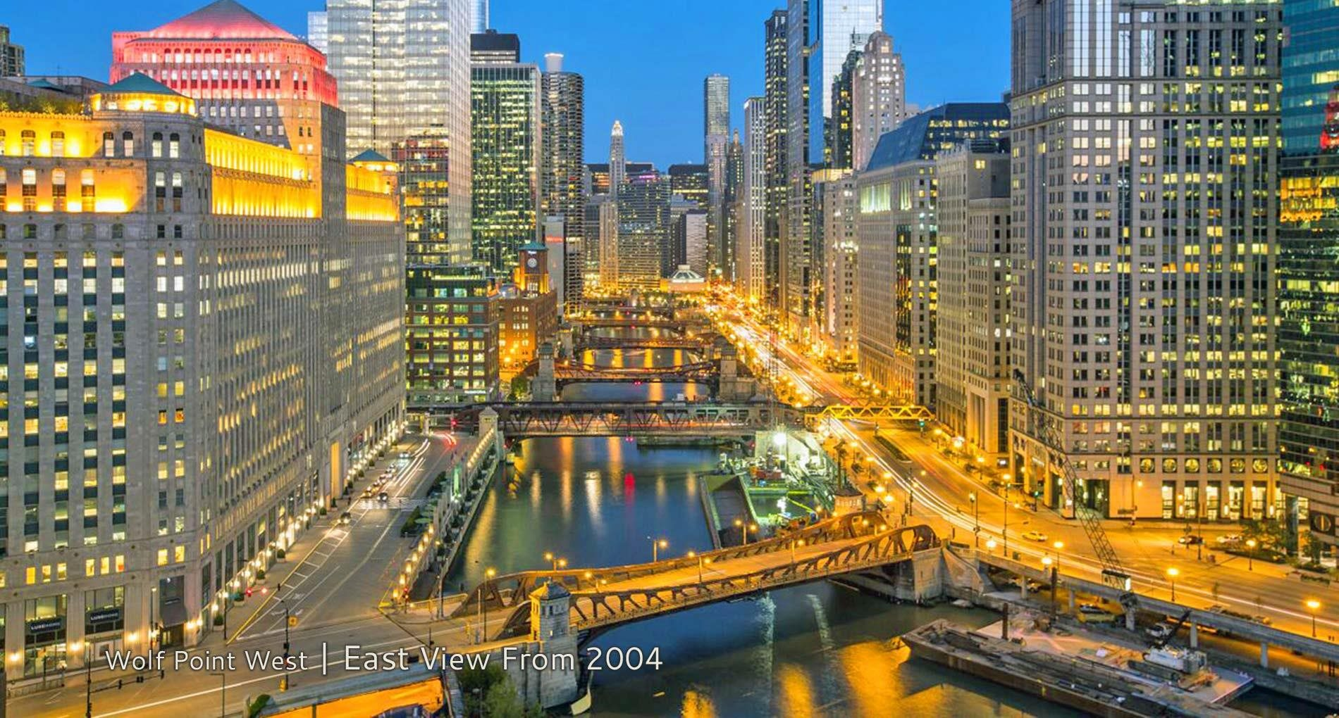 Wolf Point West | East View From 2004