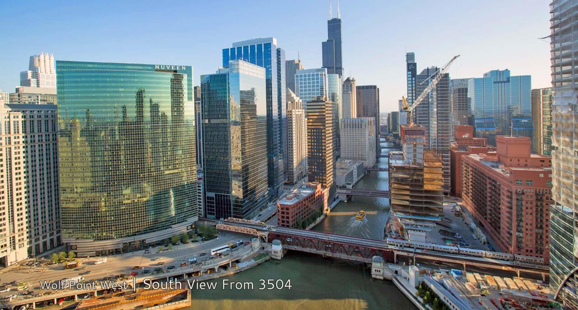 Wolf Point West | South View From 3504