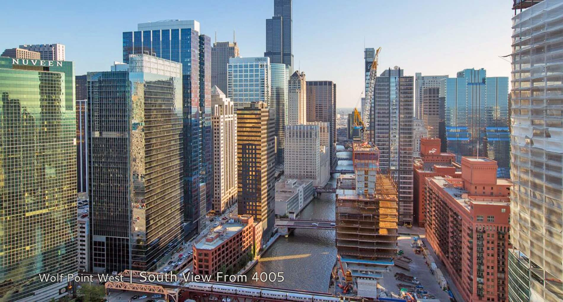 Wolf Point West | South View From 4005