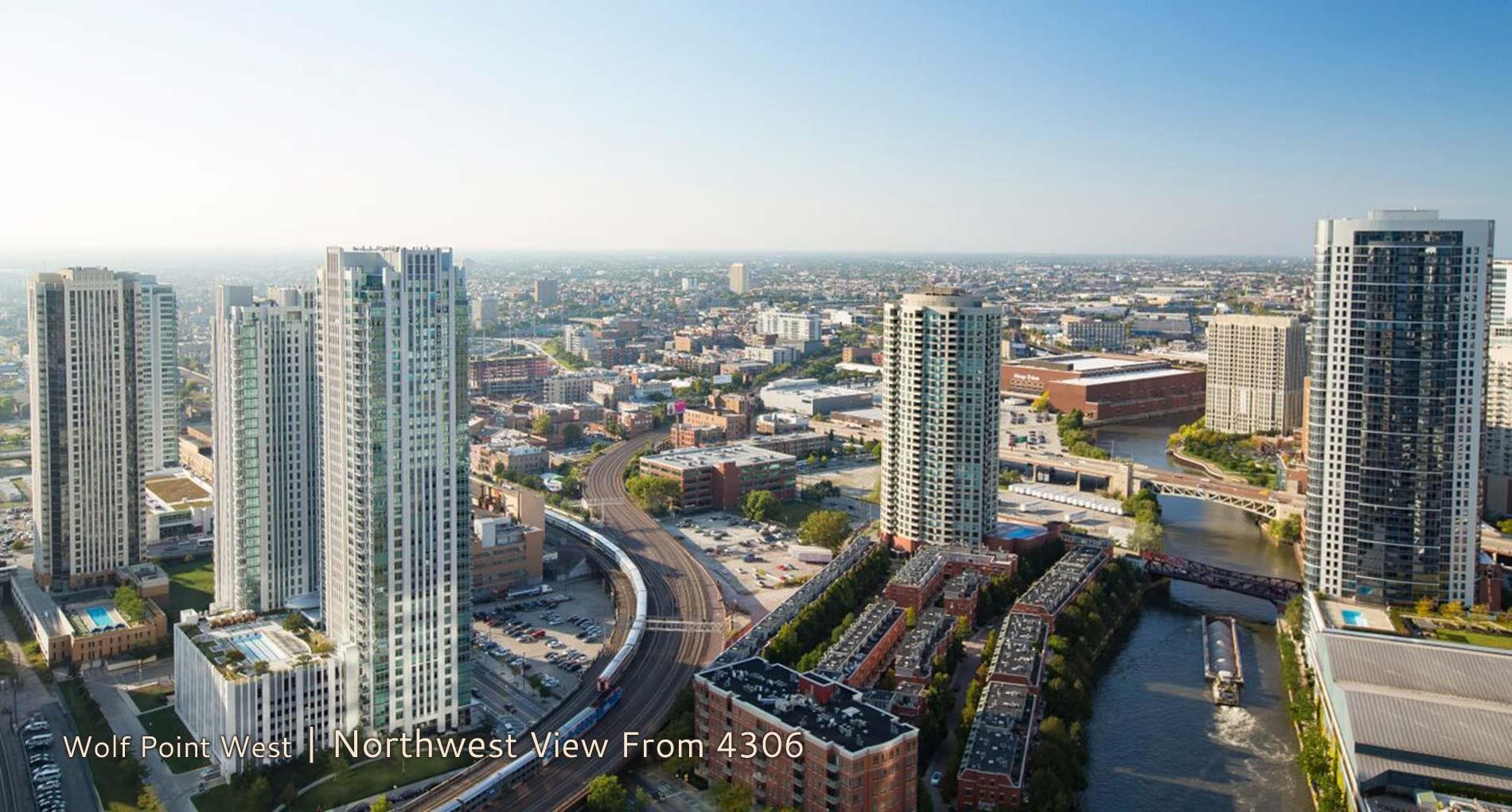 Wolf Point West | Northwest View From 4306