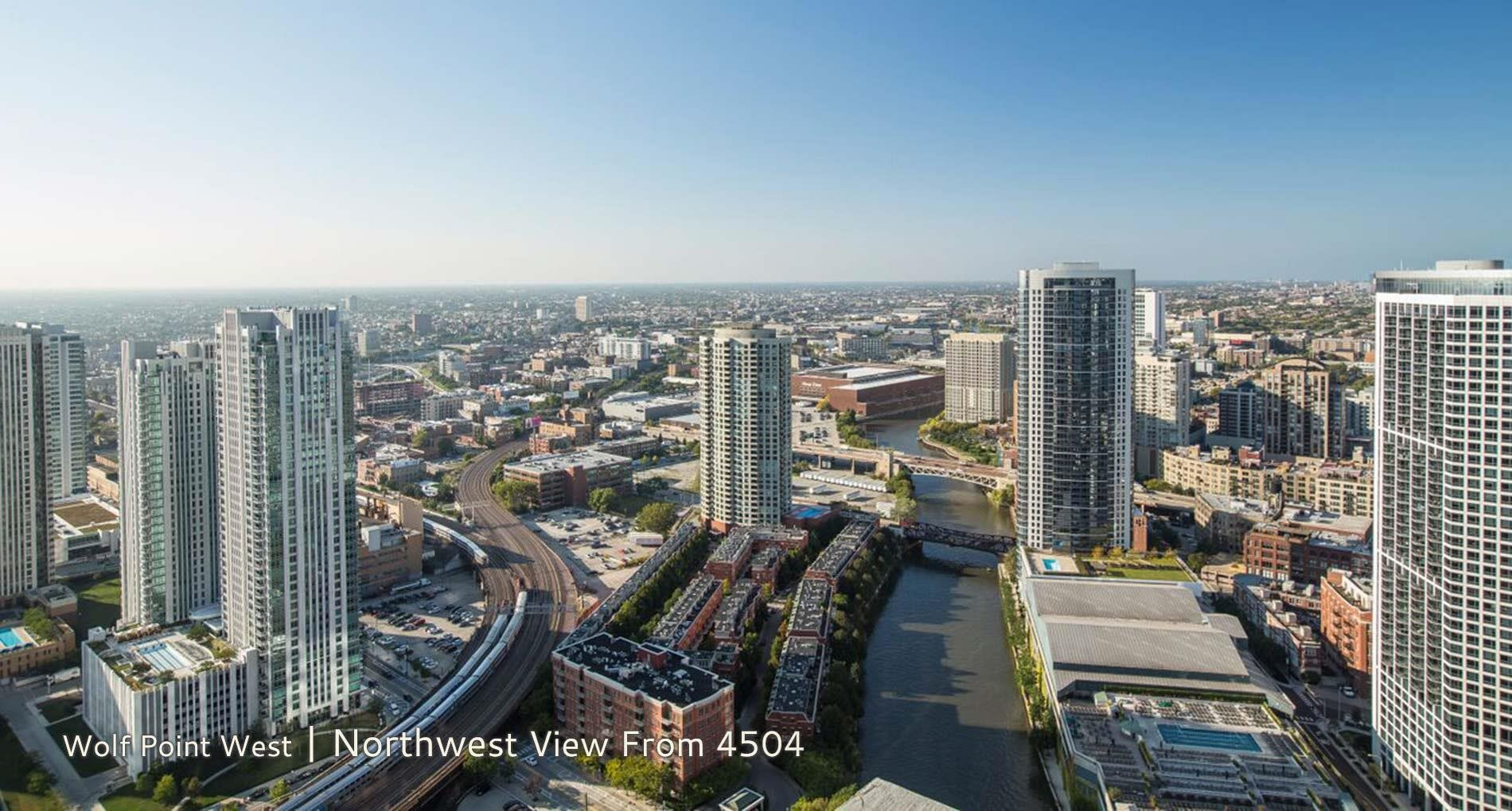 Wolf Point West | Northwest View From 4504