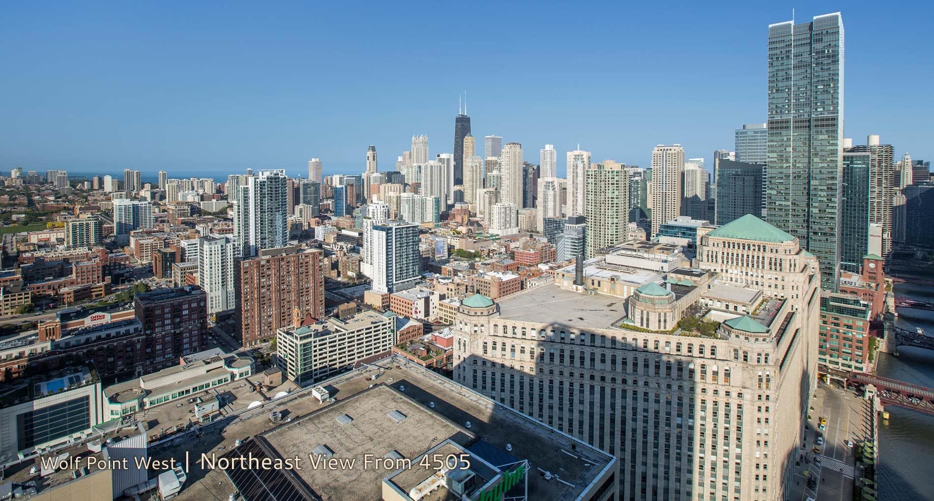 Wolf Point West | Northwest View From 4505