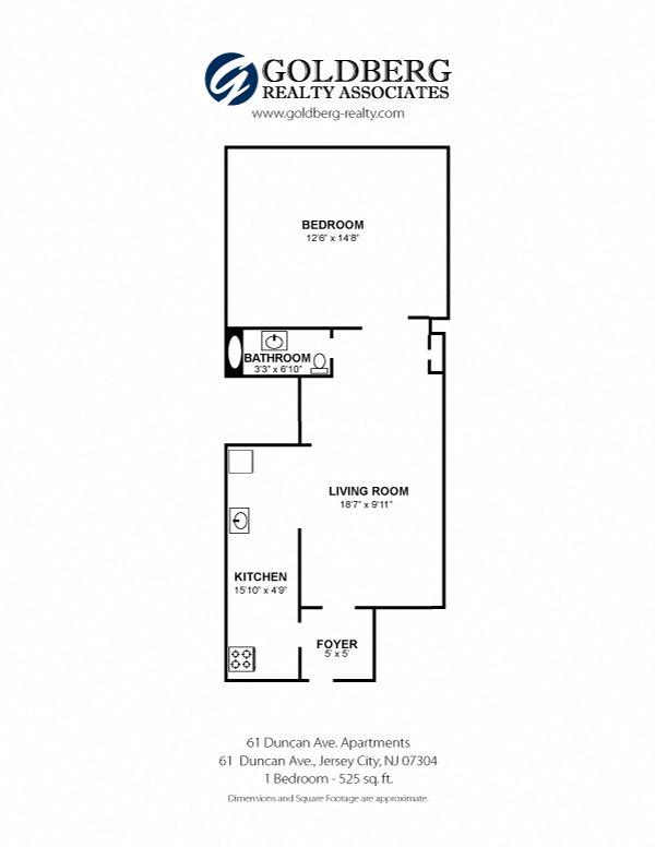 61 Duncan - One Bedroom