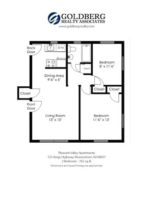 Pleasant Valley - Two Bedroom