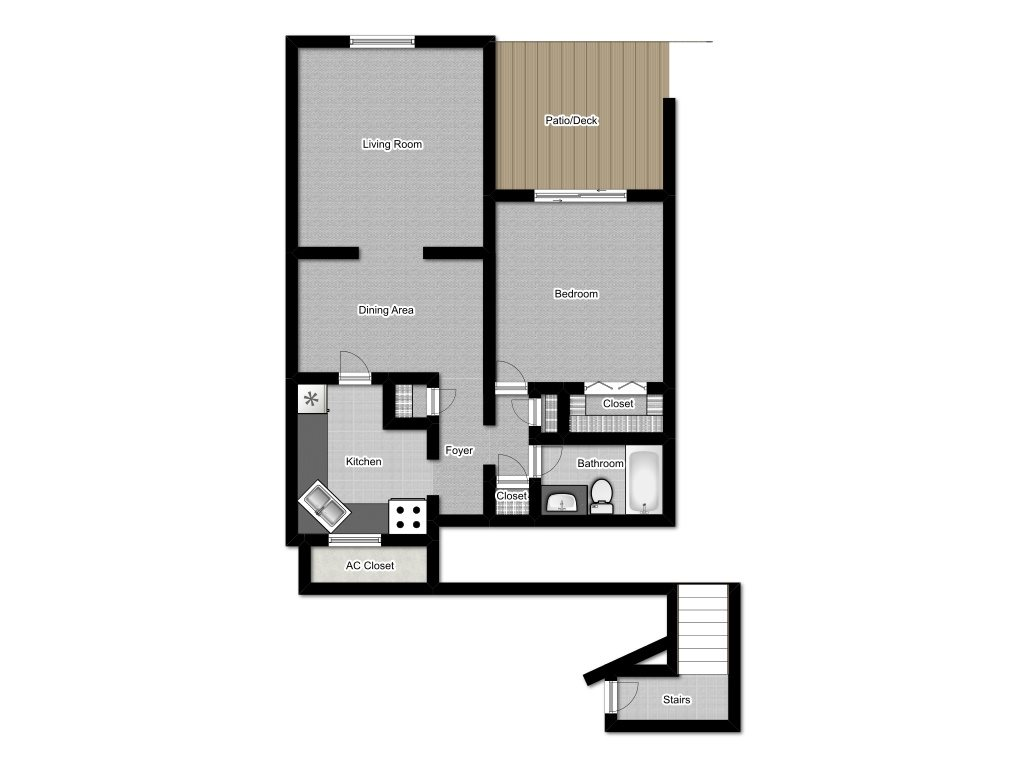 Little John Floor Plan 1