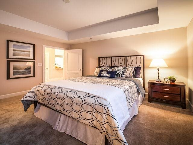 Large master bedrooms, fit for a king, at Windsor at Midtown, 222 14th Street NE, Atlanta