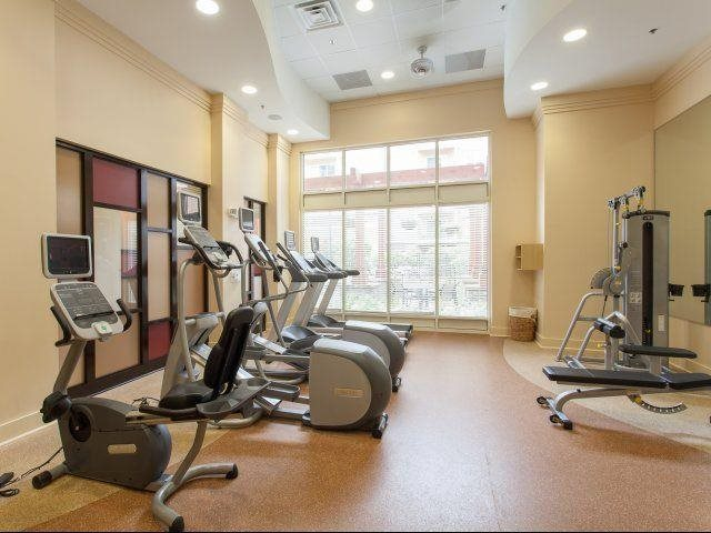 Stay in shape in our state-of-the-art fitness center, at Windsor at Brookhaven, GA 30319